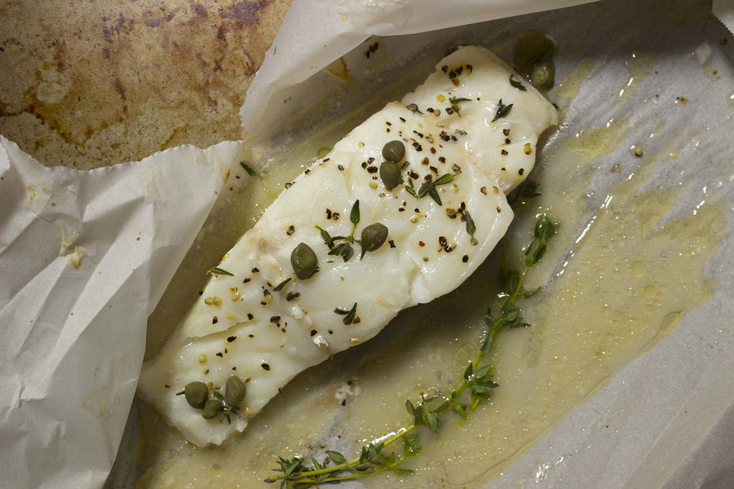 Herb Roasted Cod  | Image:  Laura Messersmith