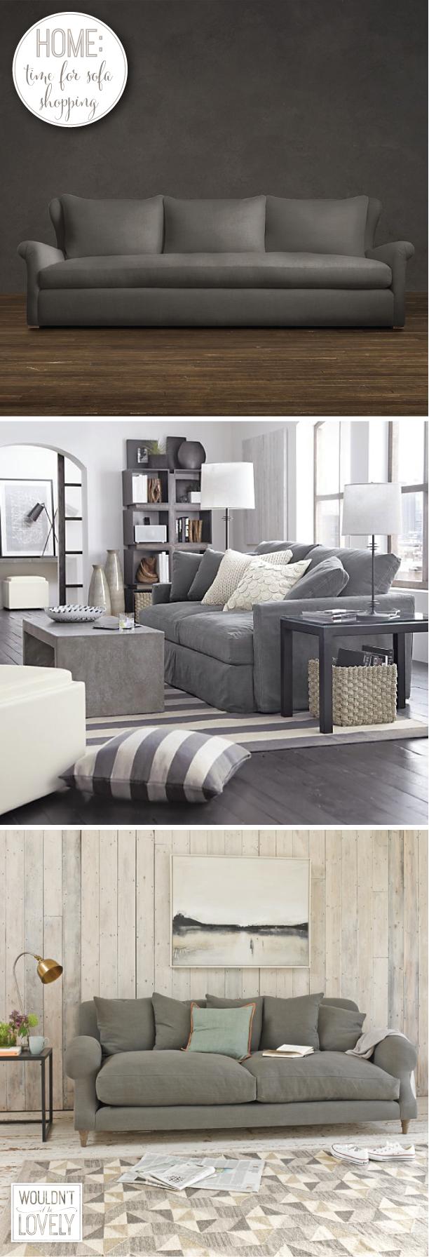 comfortable deep sofa options