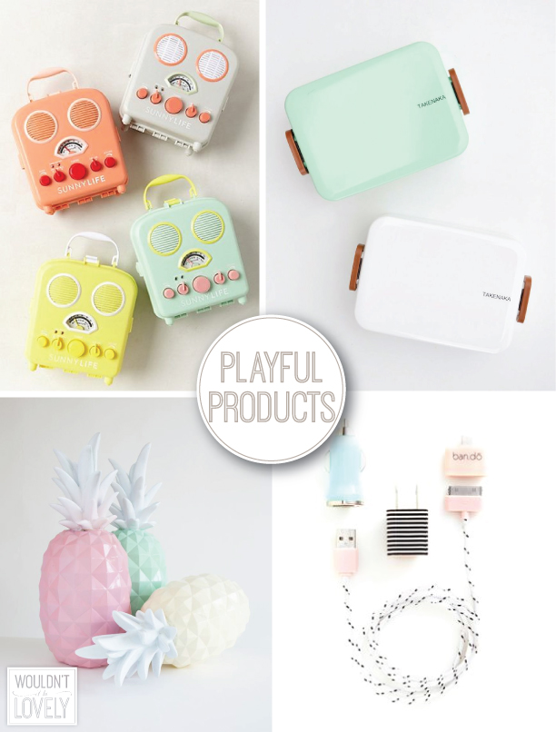 Playful products