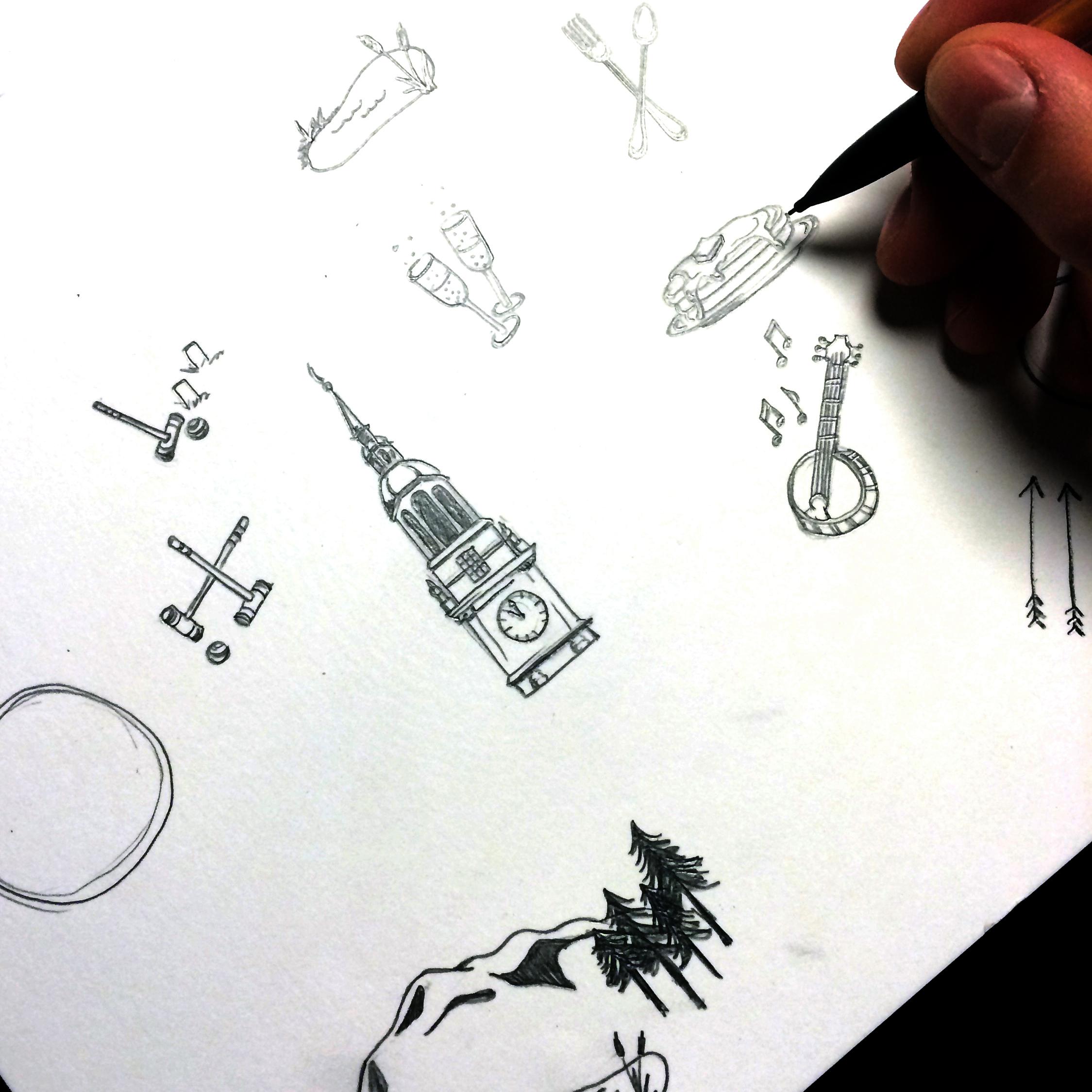 symbol sketches