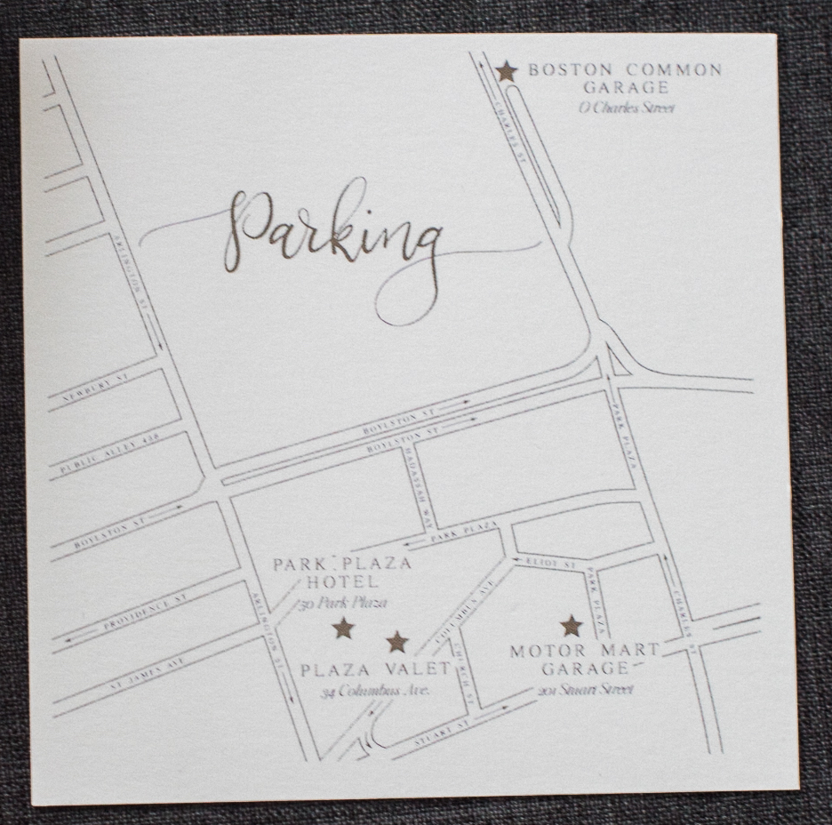 Boston Common Parking WeddingMap