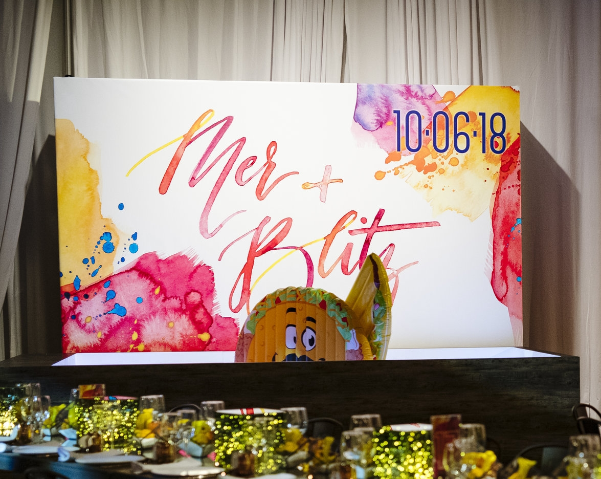 Large Ballpit Backdrop- art by Wouldn't it be Lovely, Produced by Tyger productions, Photo by Ashley O'Dell Photography