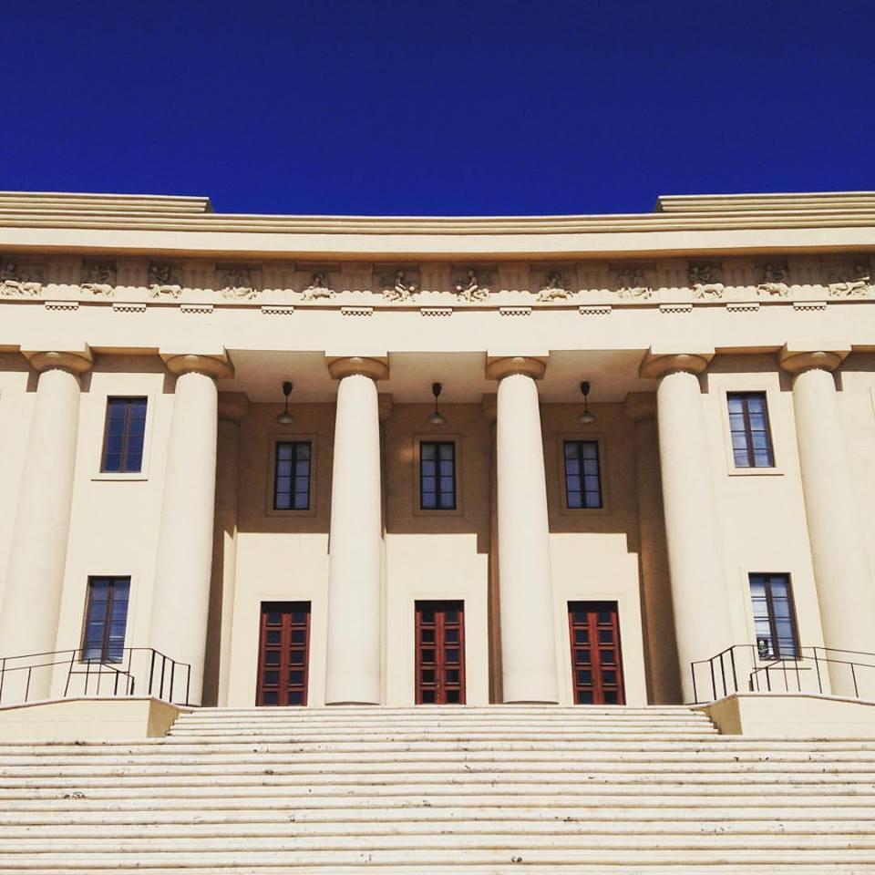 The Palacio de Bellas Artes in Santo Domingo, where  Miranda was premiered