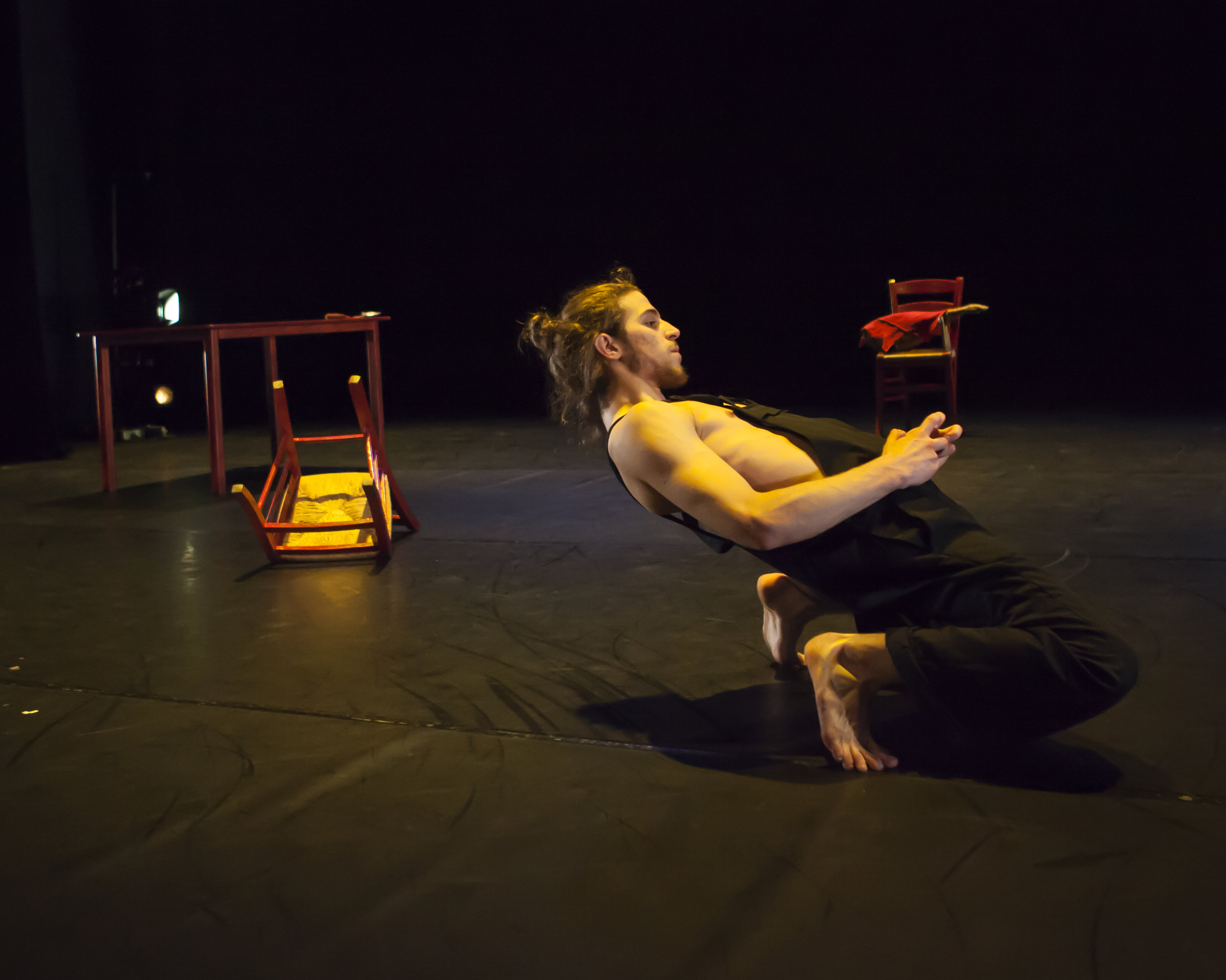 Lisard Tranis in Carlos Pons Guerra's Young Man!. Photo: Maria Falconer