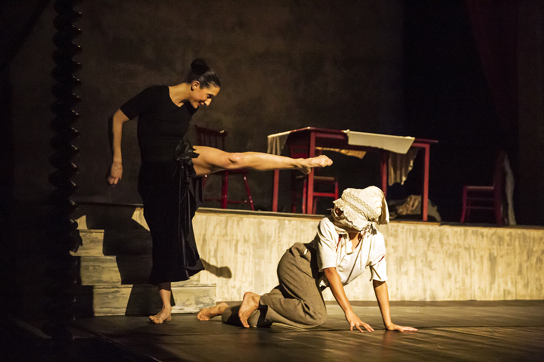 Marivi Da Silva and Antonette Dayrit in Carlos Pons Guerra's O Maria. Photo: Emma Kauldhar