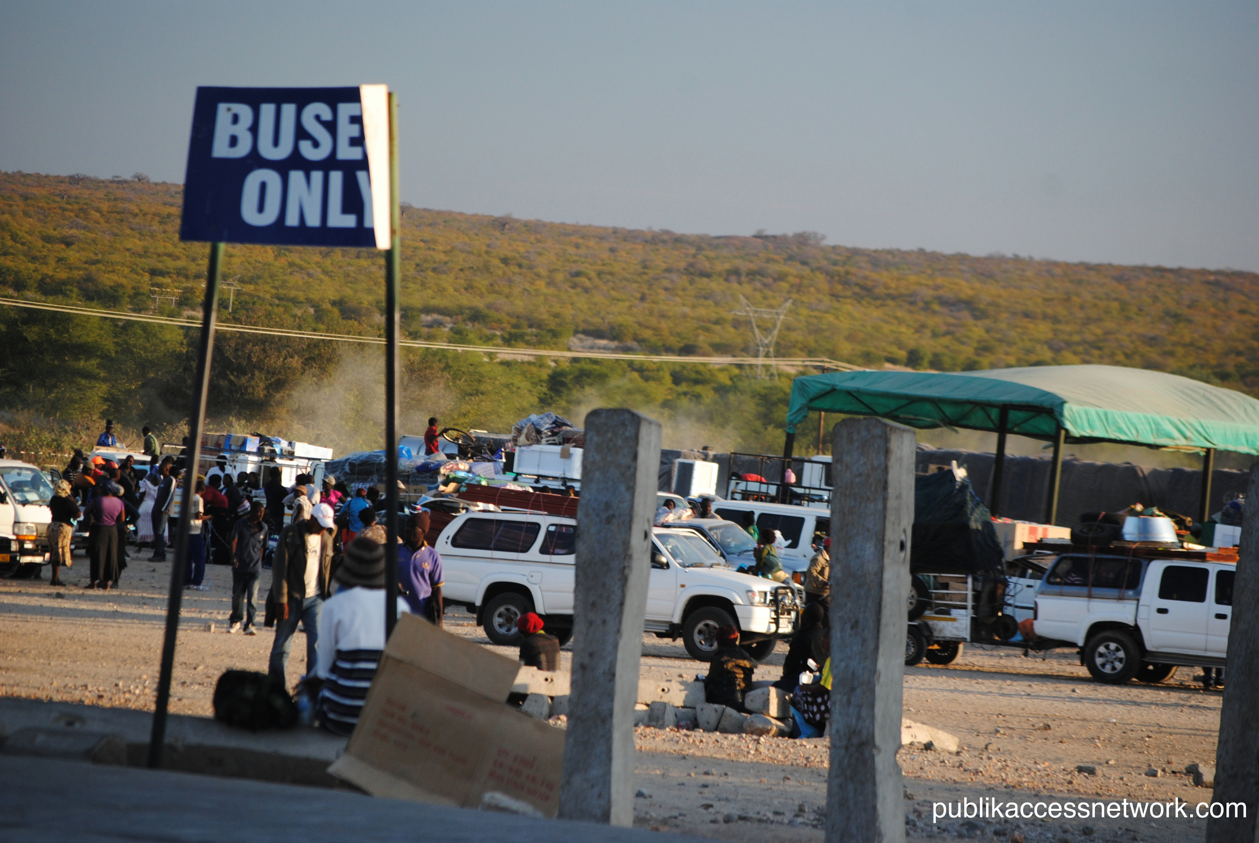 Messina Border post, SouthAfrica