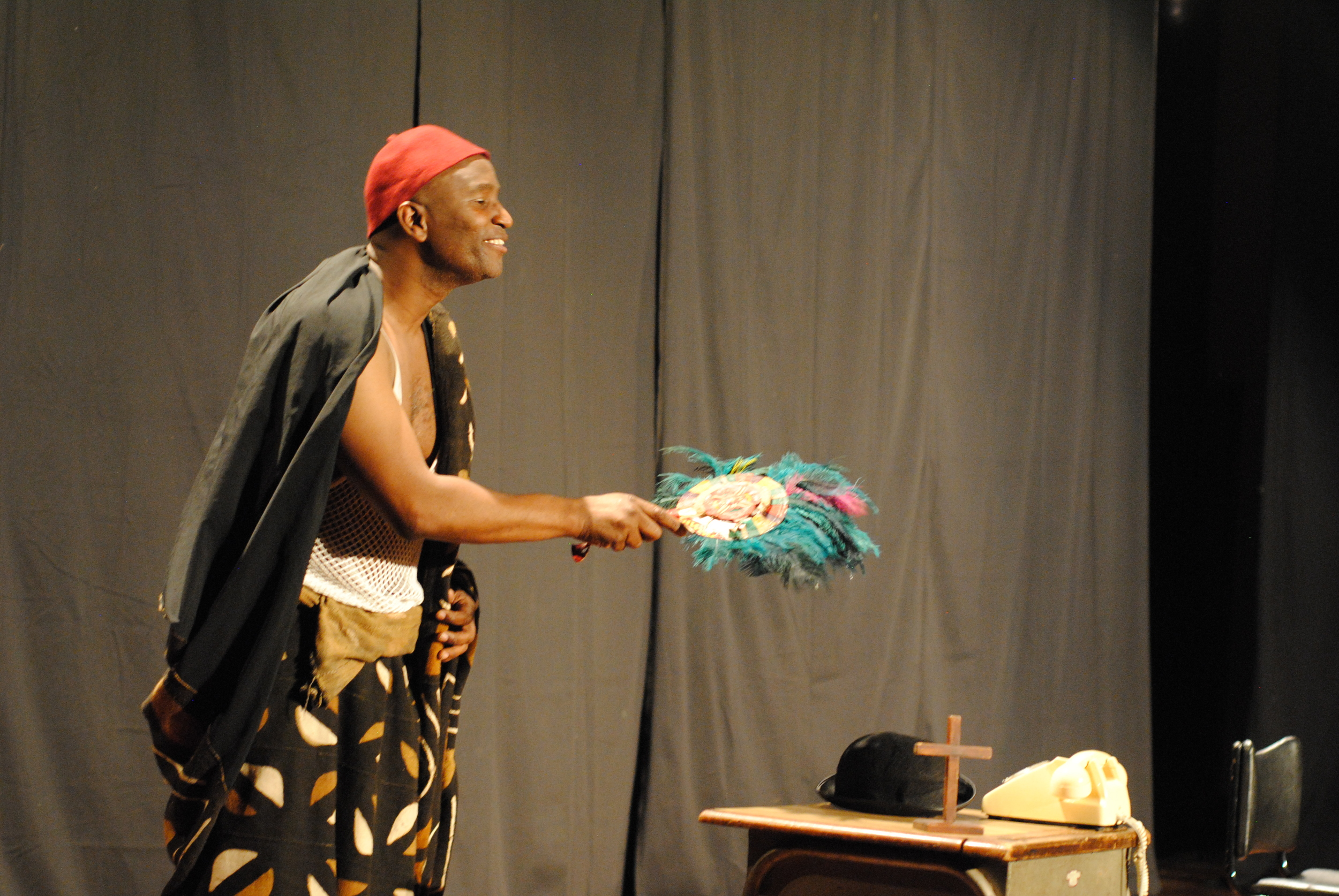 Patrice Naiambana in The Man Who Committed Thought, (Hifa 2011)