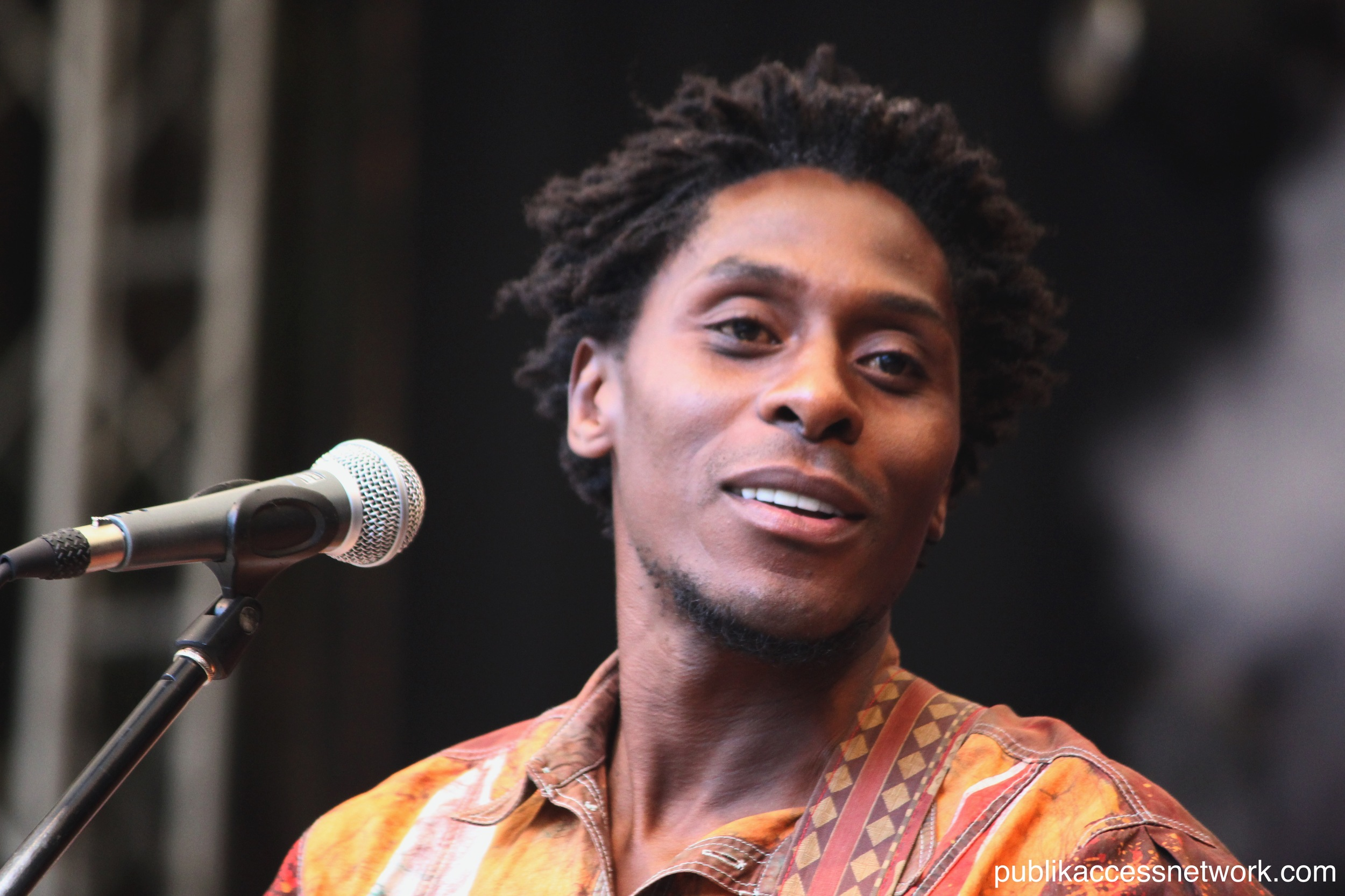 Victor Kunonga performing at the Main Stage