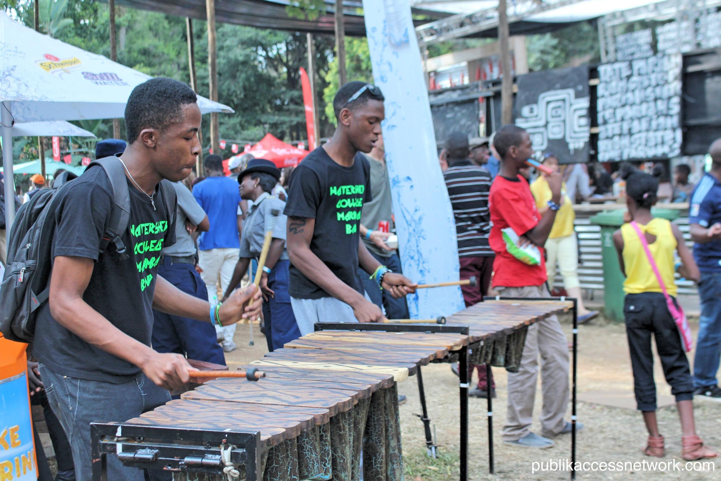 Watershed College Marimba Band