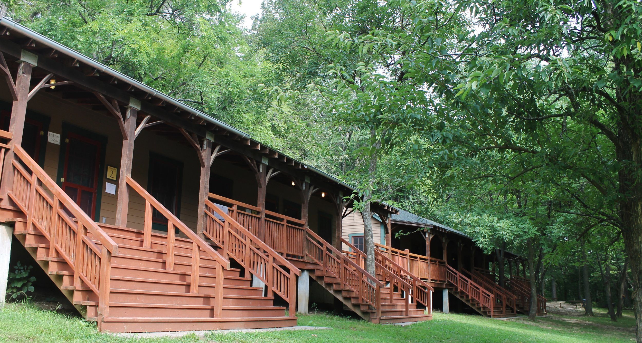 Retreat-Style Lodging: Pete's Cabins