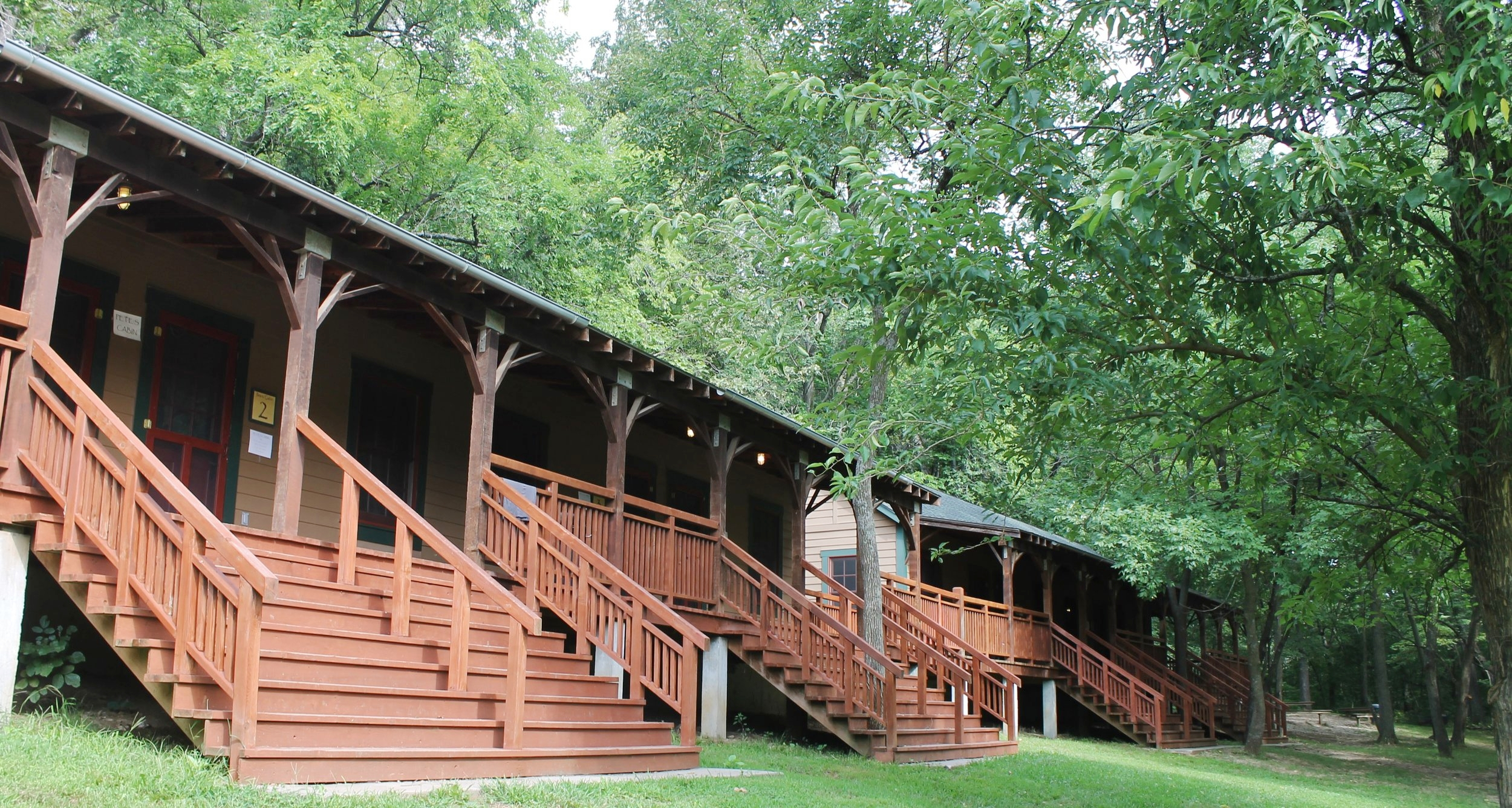 Copy of Retreat Style Lodging: Pete's Cabins