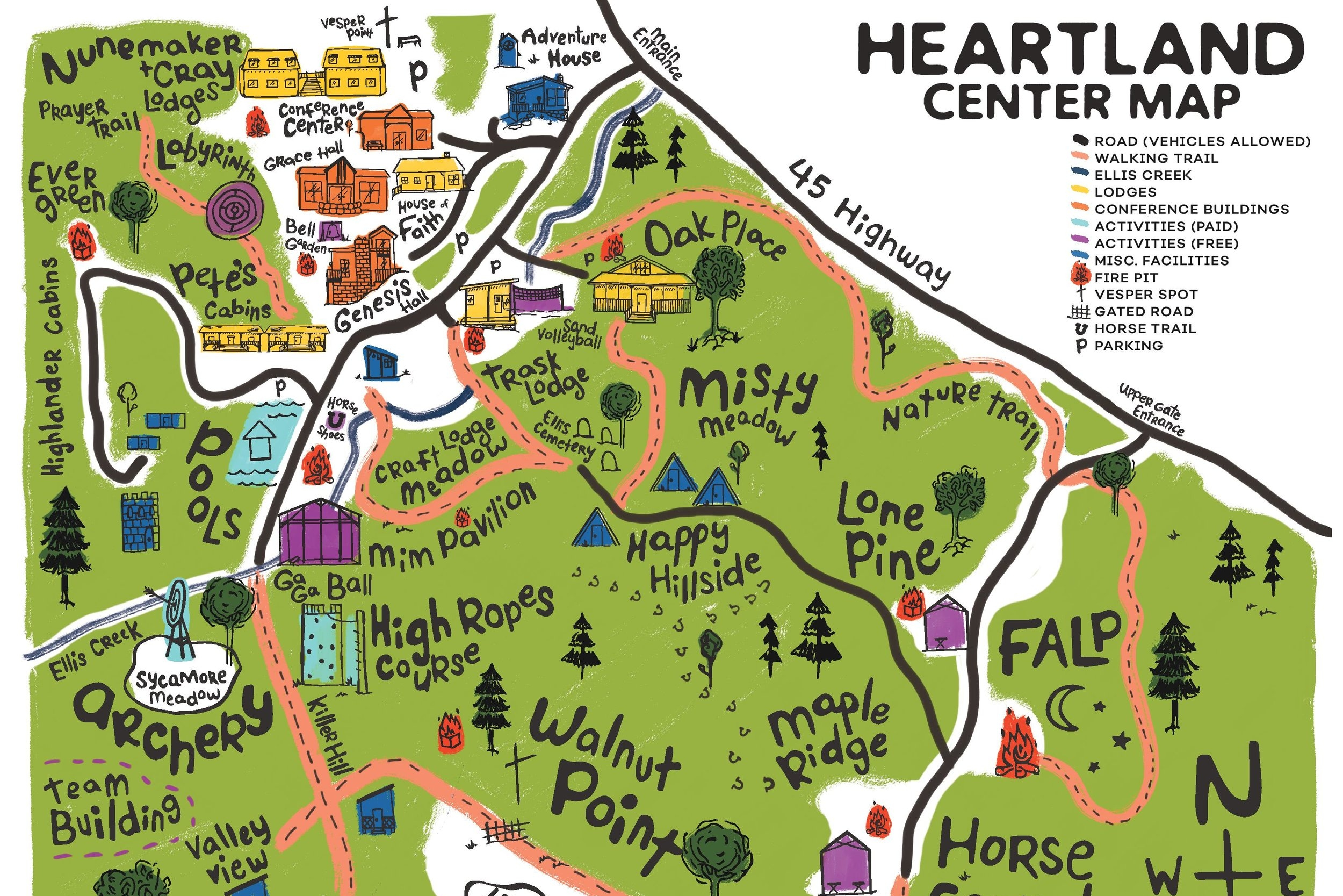 Trail Map -