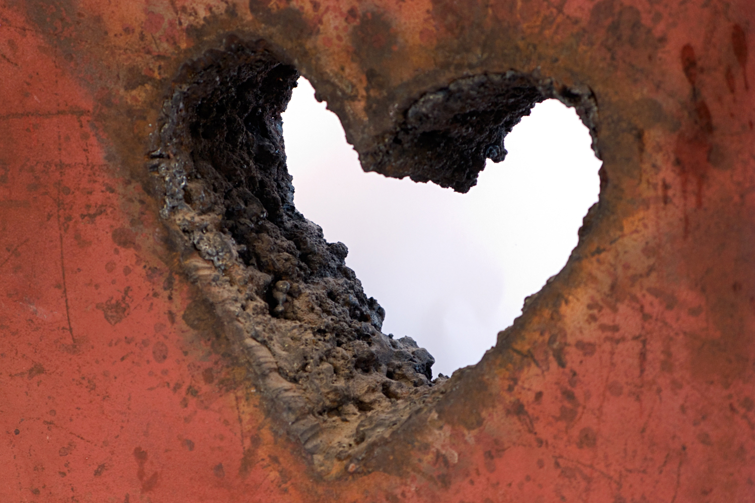 Untitled (Torched Heart)