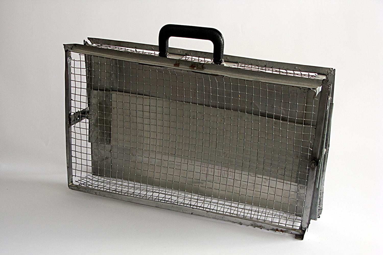 Untitled (Wire Briefcase)