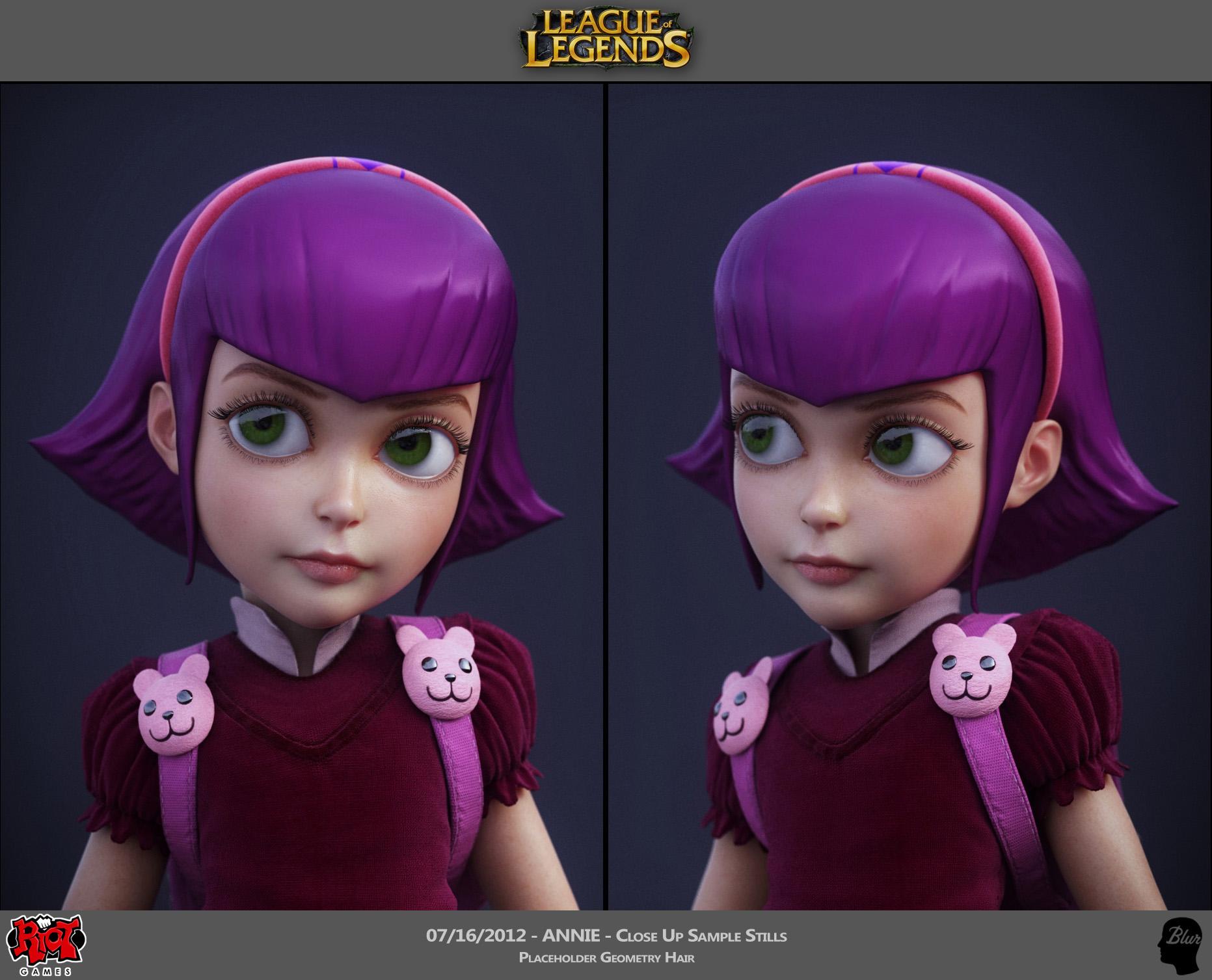 League of Legends — James Ku - CG Character Artist