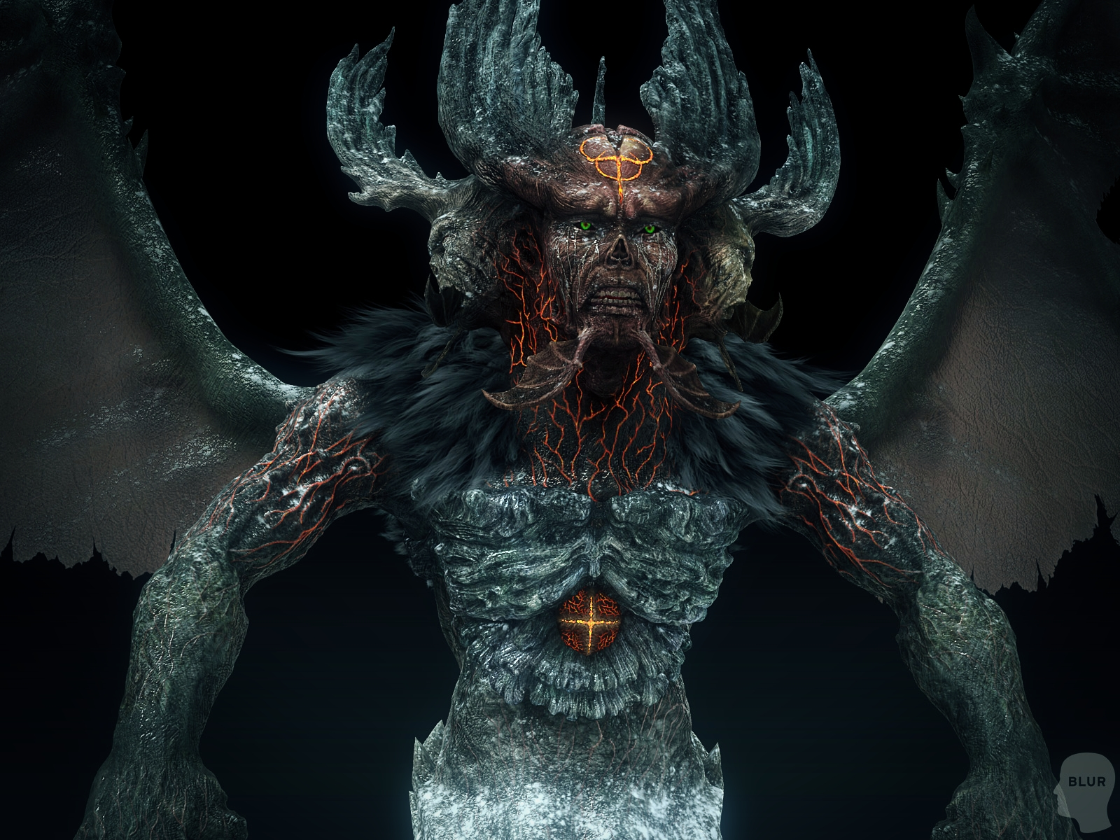 Dante S Inferno James Ku Cg Character Artist