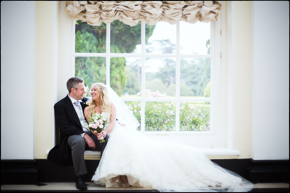 The Orangery at Blenheim Palace. Oxfordshire wedding photography.