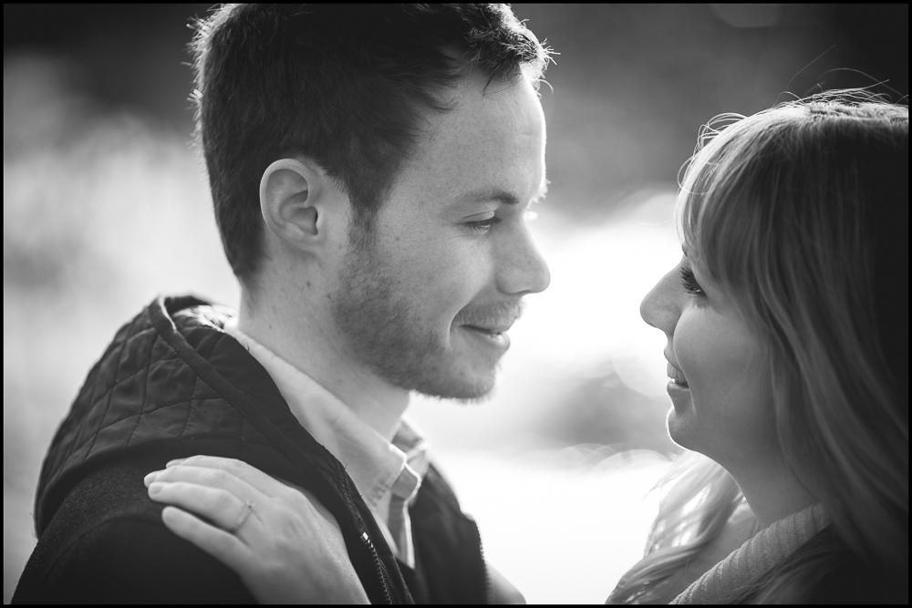 Jenny & Ryan. Engagement photography at Blenheim Palace.