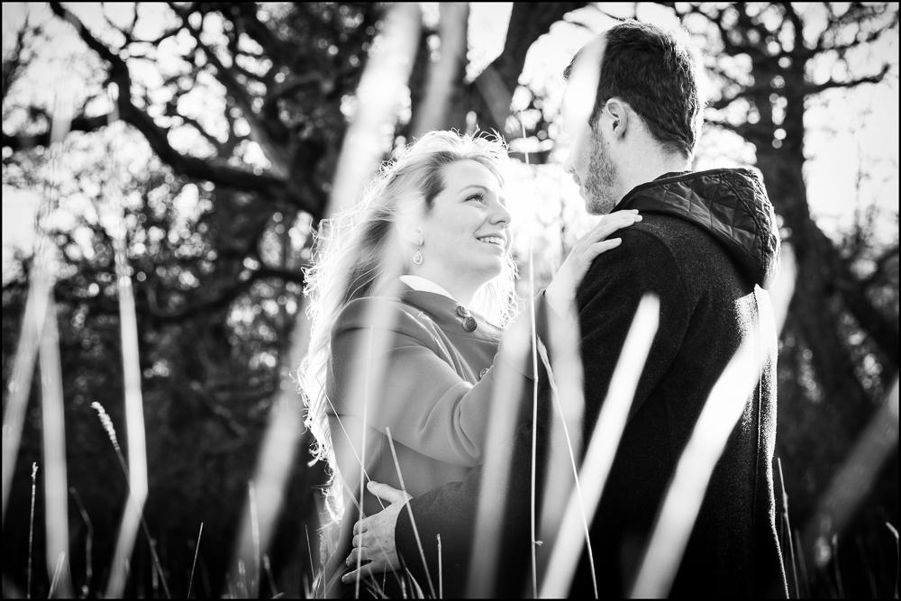 Jenny & Ryan  e  ngagement.  Blenheim Palace Photography.