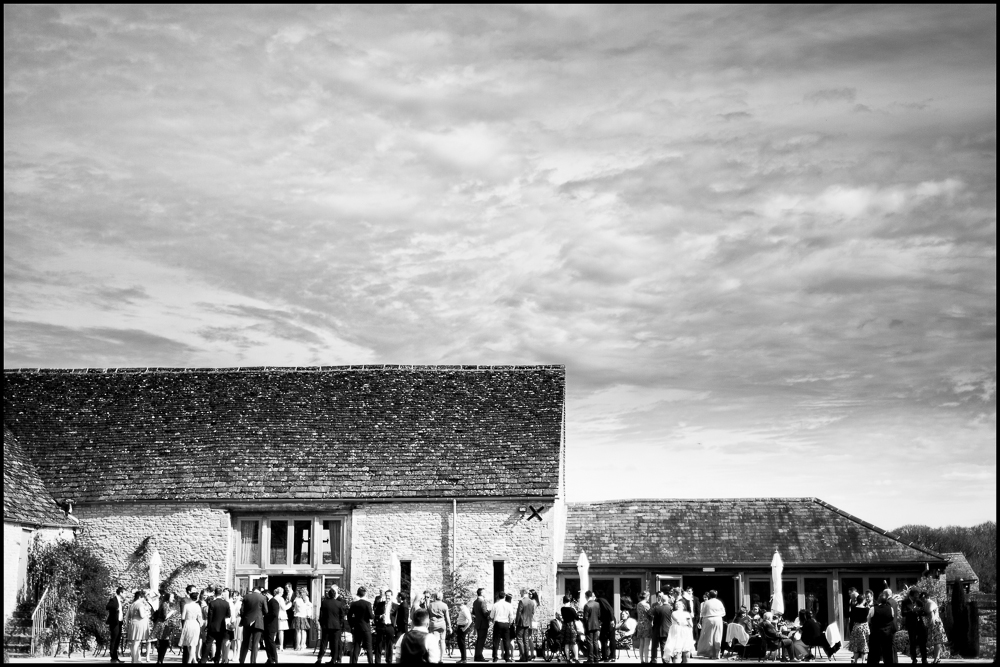 Claire & David. Wedding photographer, Caswell House , Oxfordshire.