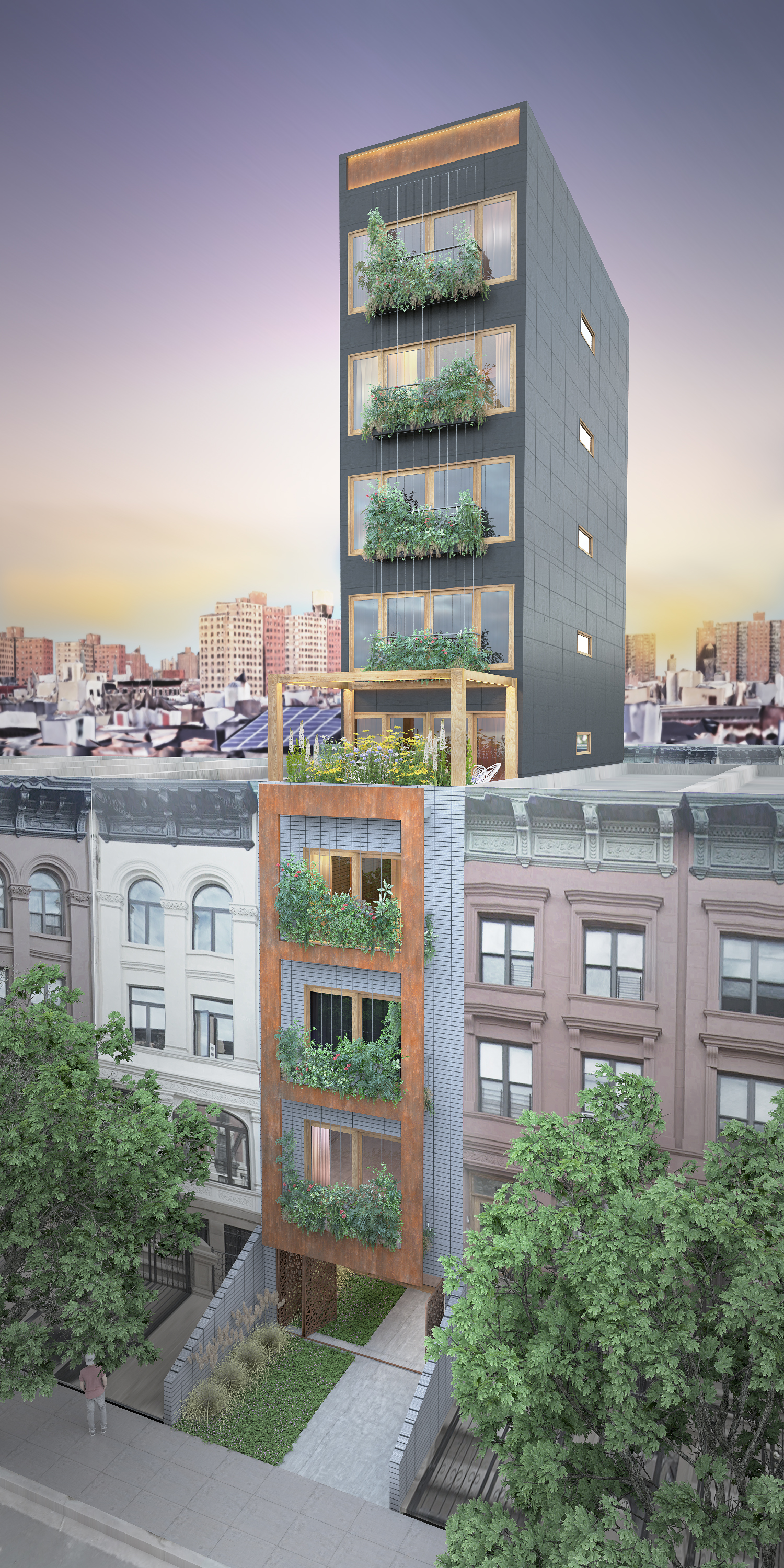 BIG IDEAS FOR SMALL LOTS NYC | COMPETITION