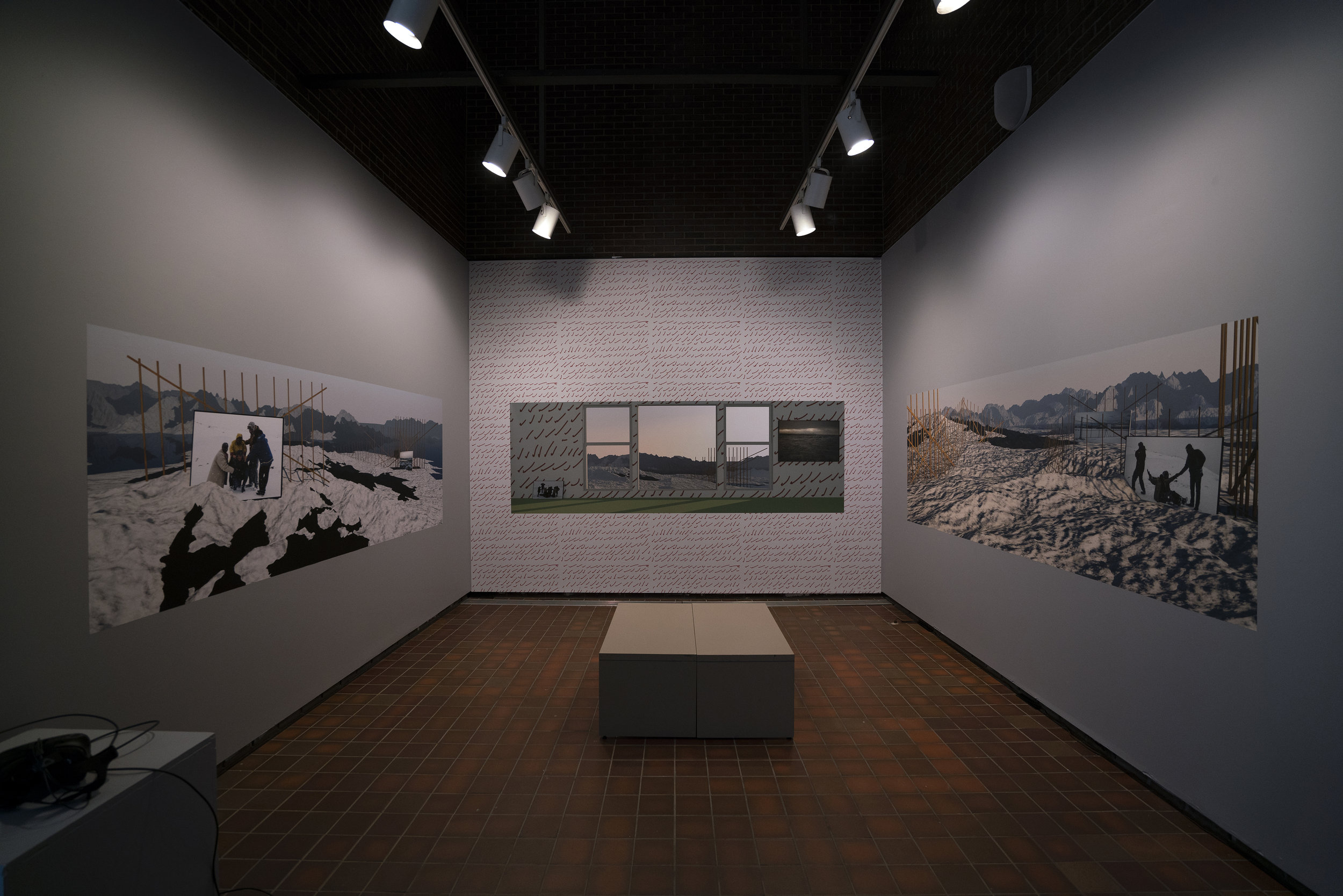 Installation short at FAB Gallery, Edmonton, AB. Each photograph is 4' x 11'