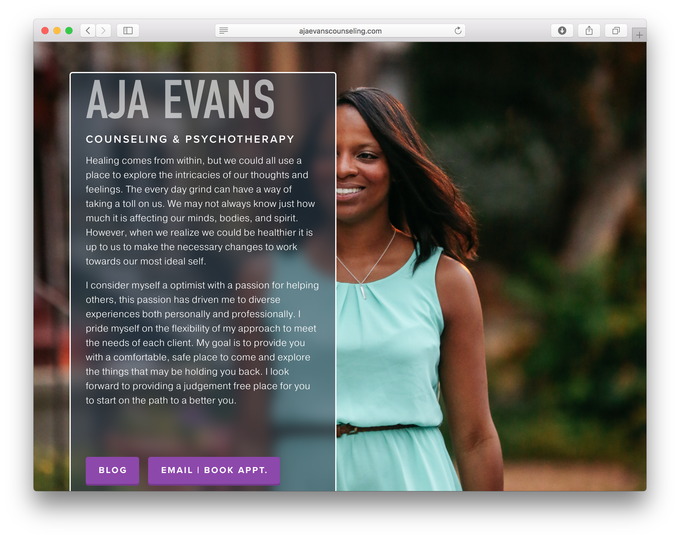 Aja Evans Counseling