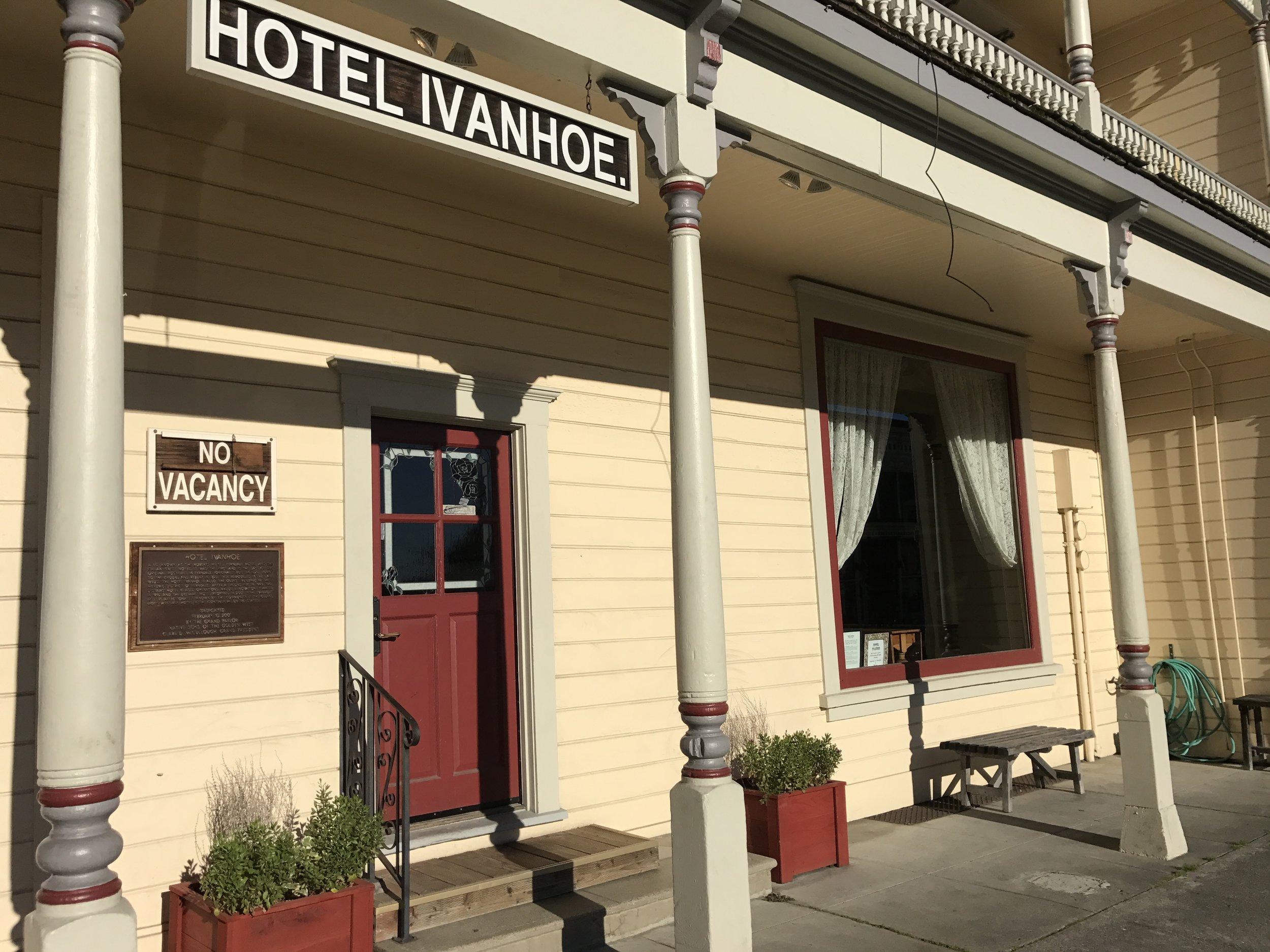 Hotel Ivanhoe in Ferndale, California
