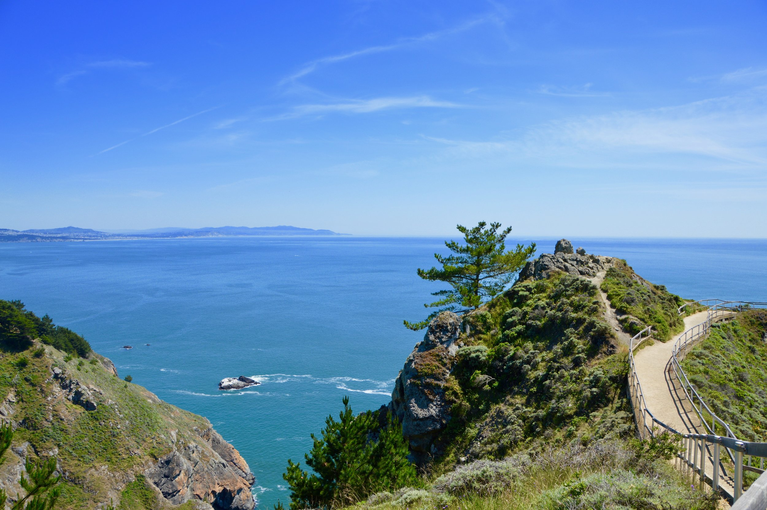 Muir Beach Overlook in Northern California