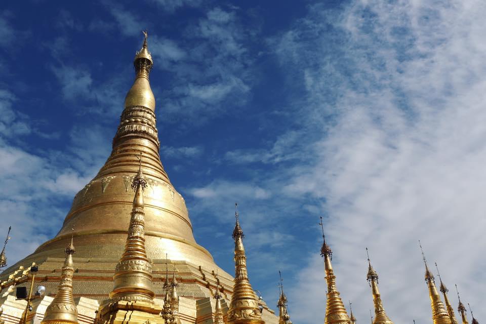 Shwedagon Pagoda. January 2017.