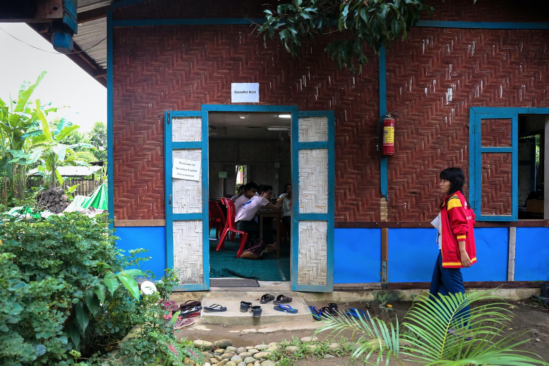 School days. Myitkyina, August 2017