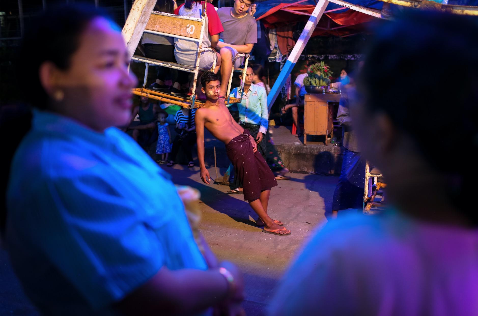 Welcome home sass and smiles. Yay Kyaw, Yangon.