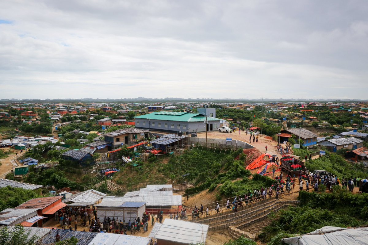 The world's most populated refugee camp. Cox's Bazar, Bangladesh