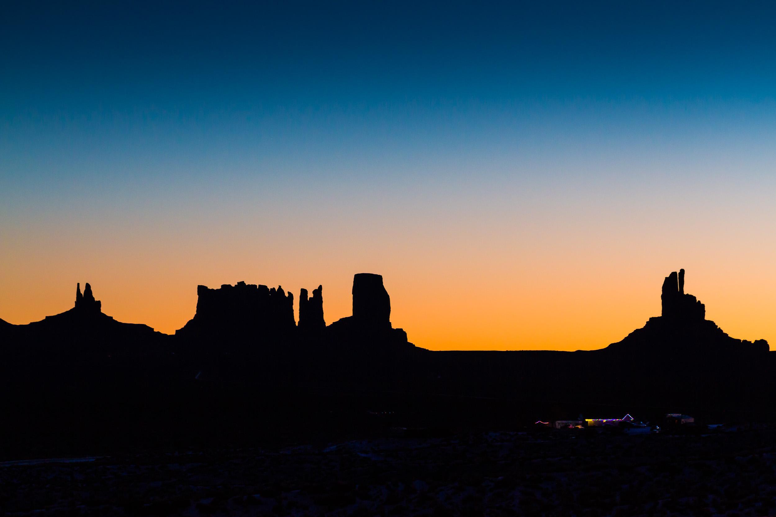 """""""Monument Valley Skyline"""", UT"""
