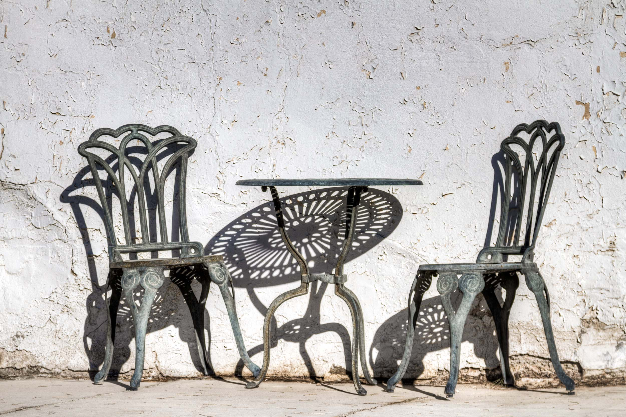 """""""Coffee Table and Chairs"""", Death Valley Junction, CA"""
