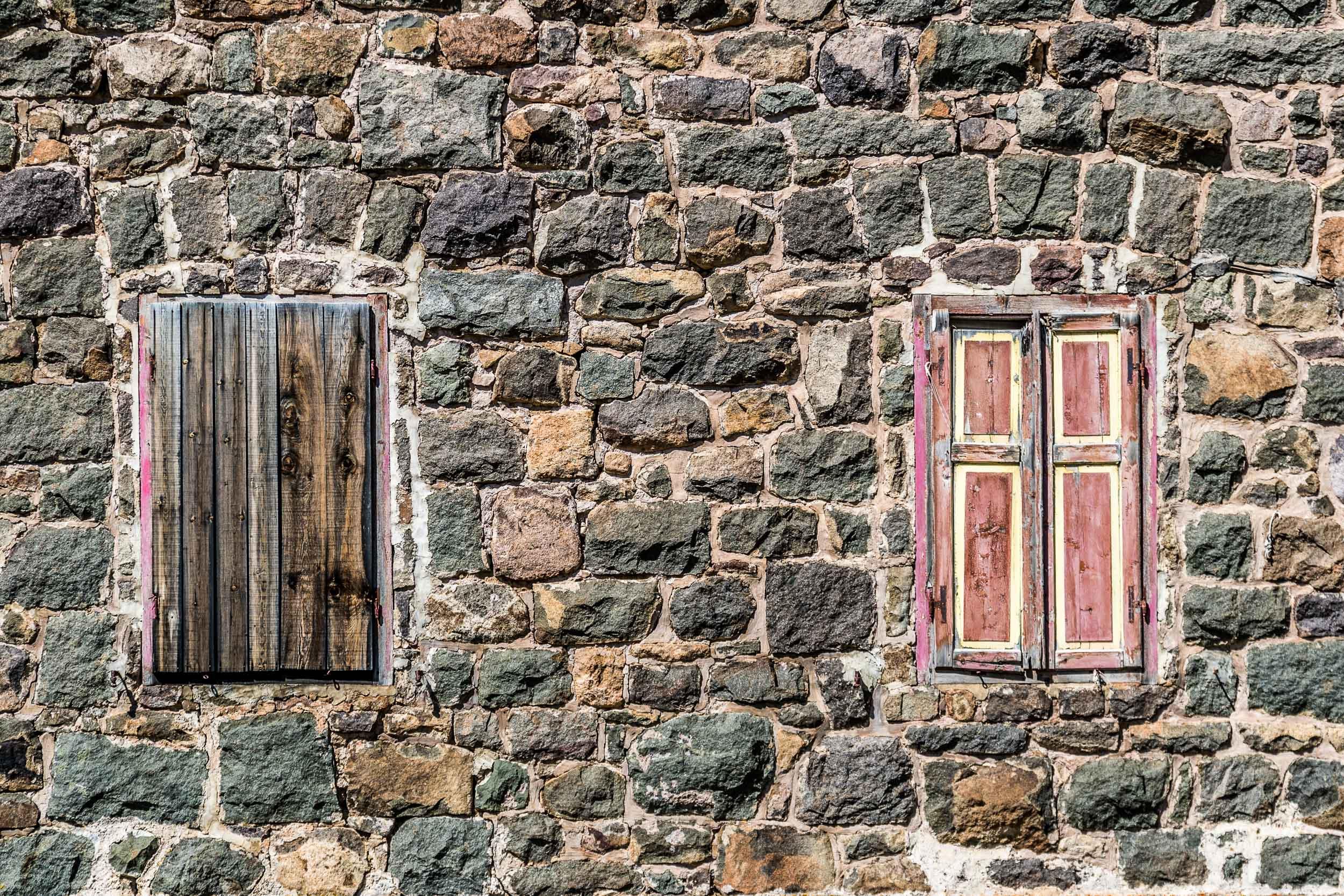 """Windows in Stone II"", Dolomites"