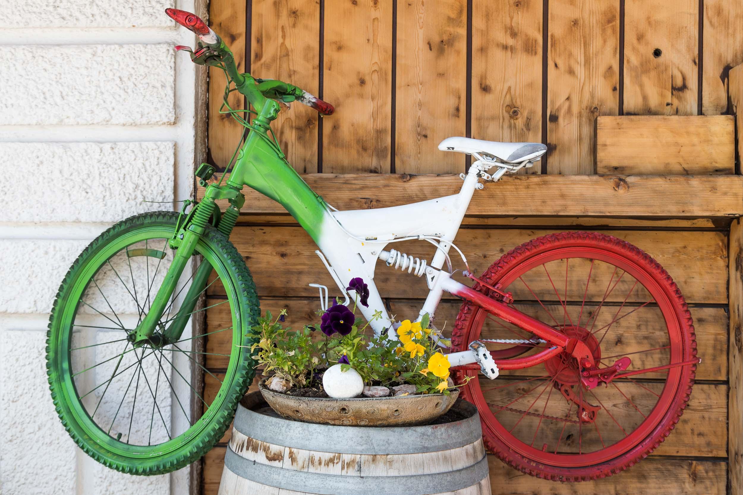 """Italian Bike"", Dolomites"