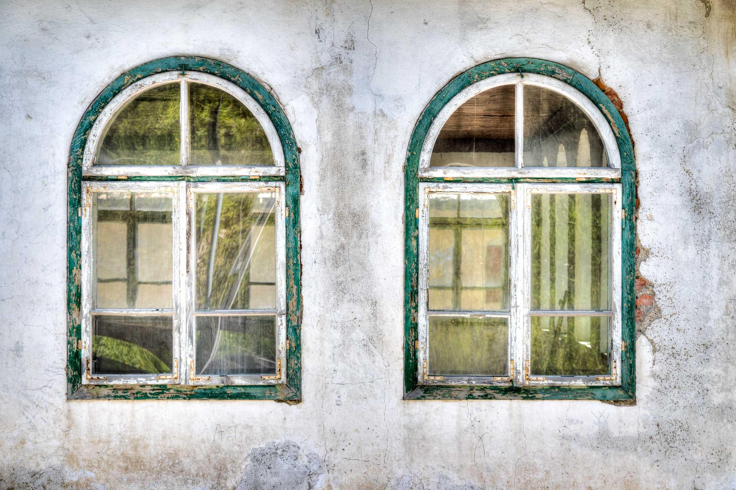 """Two Windows"", Dolomites"