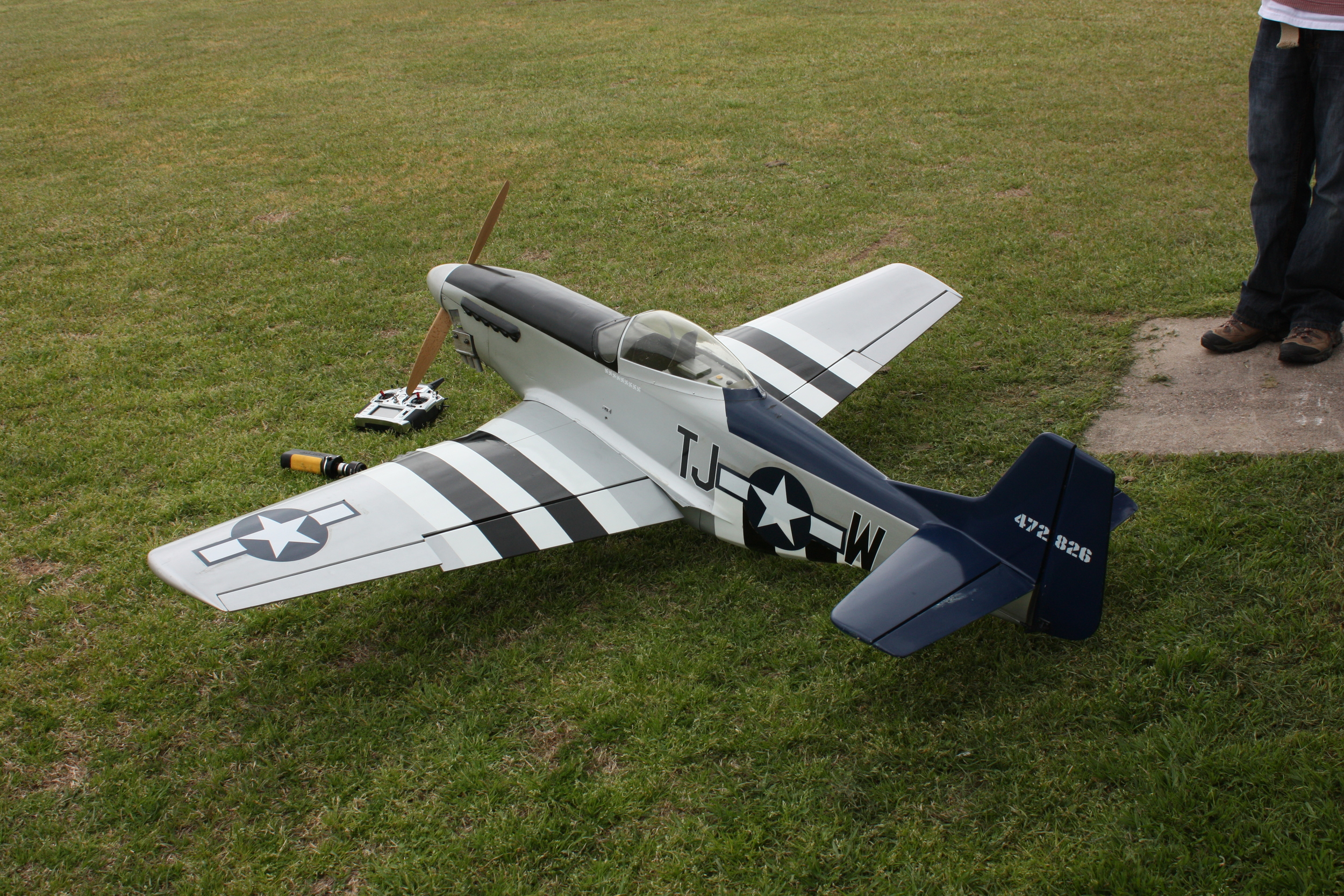 Last Flight of the P-51