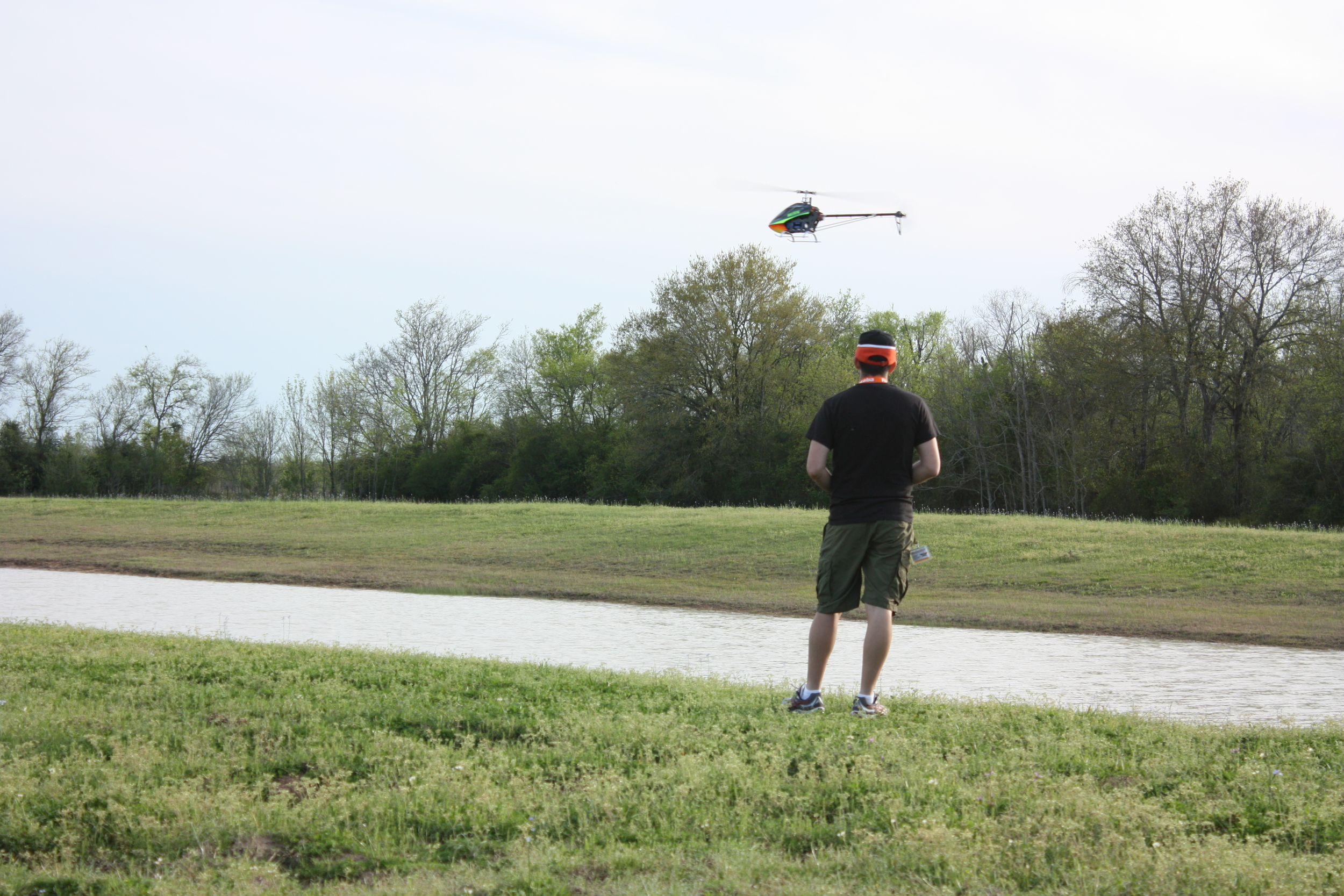 Heli at the Pond