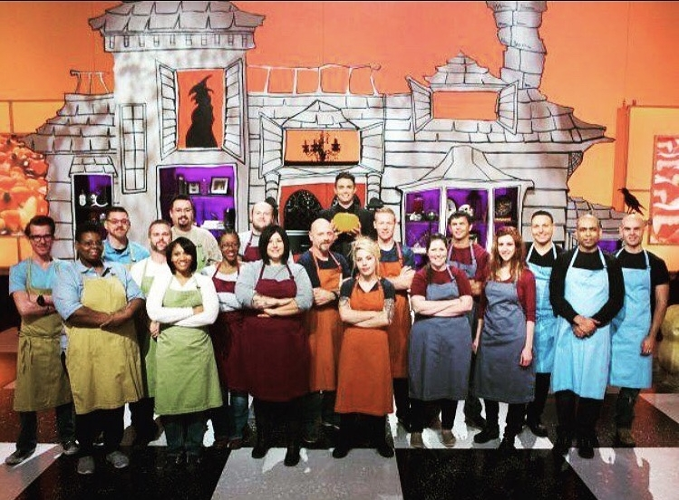 Joshua competed on season six of Food Networks Holloween wars