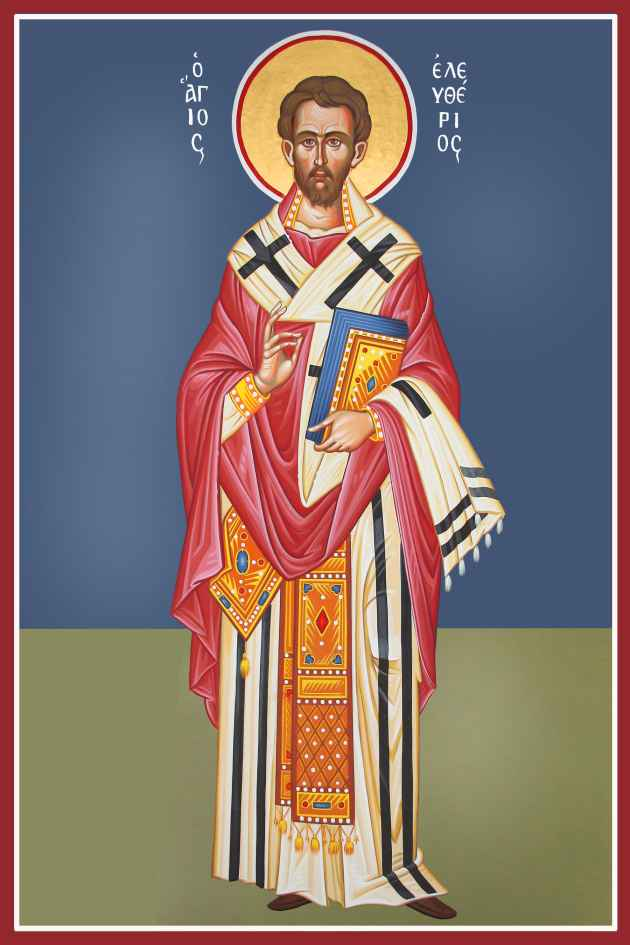 St. Eleftherios the Hieromartyr