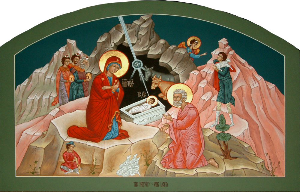 Greek Orthodox Christmas.December 2015 Newsletter And Calendar Ss Constantine And