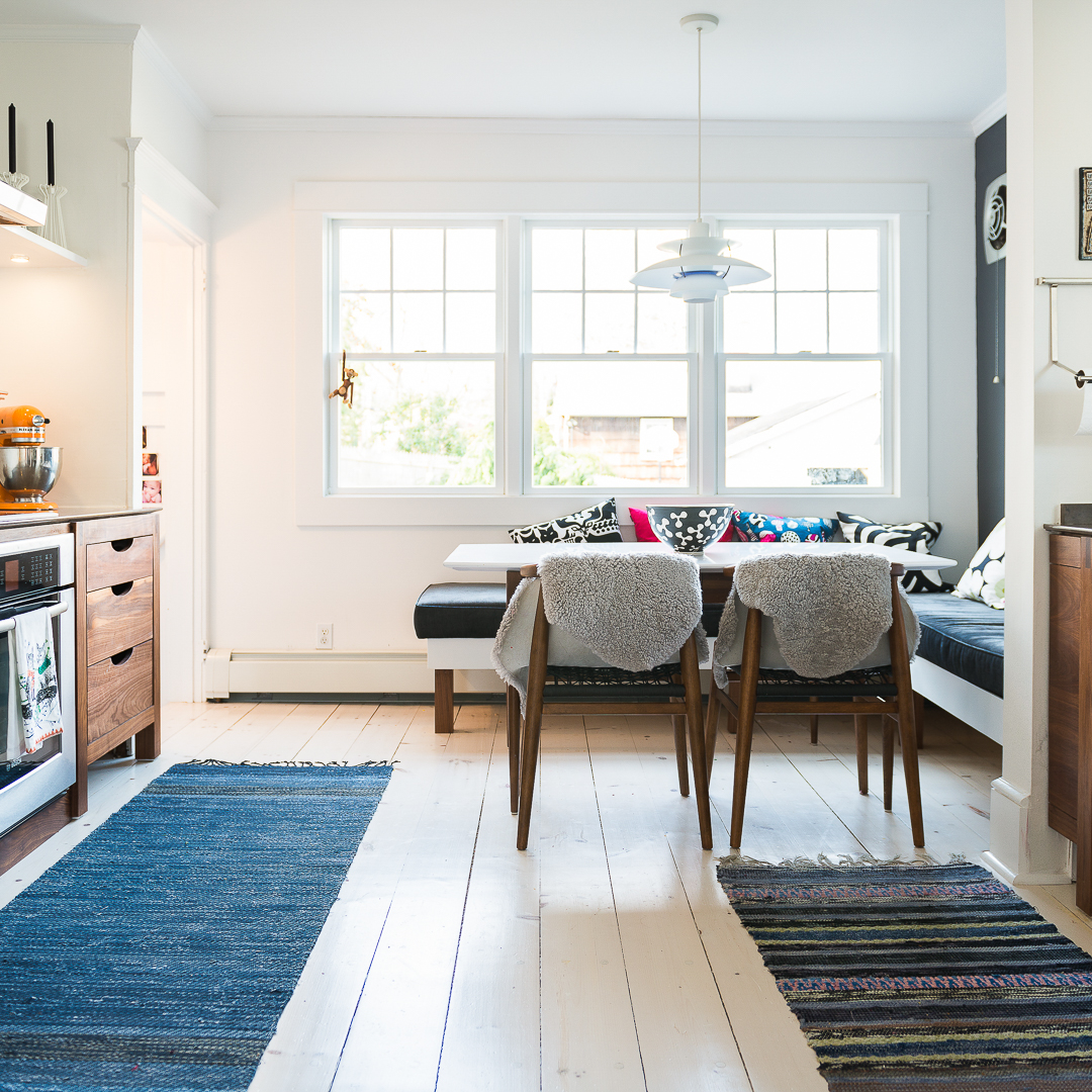 We travel to the Swedish countryside, sort through hundreds of rugs, select the best ones to bring back and dive into a crayfish dinner after a long day's work.