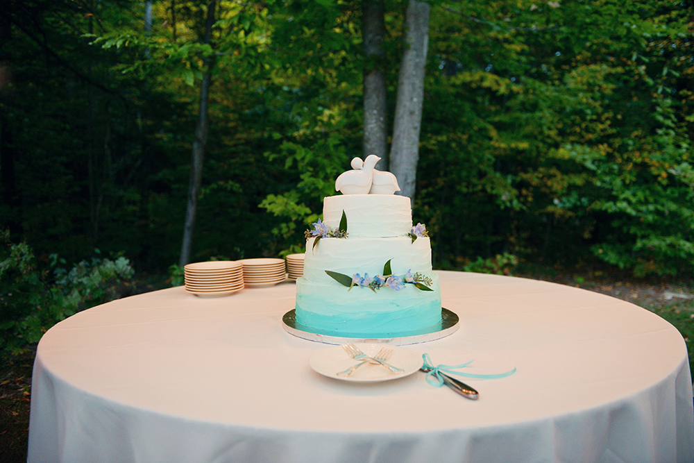 Sara Mercier wedding cakes