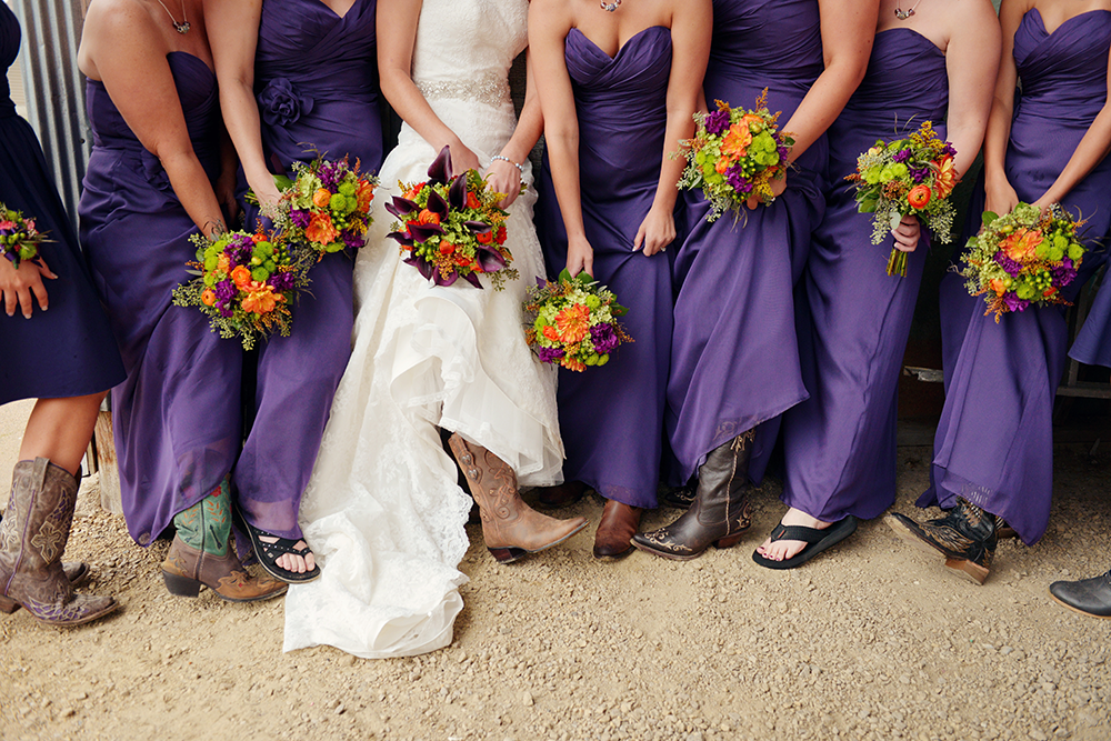 cowgirl-boots-wedding-bridesmaids-kennedy