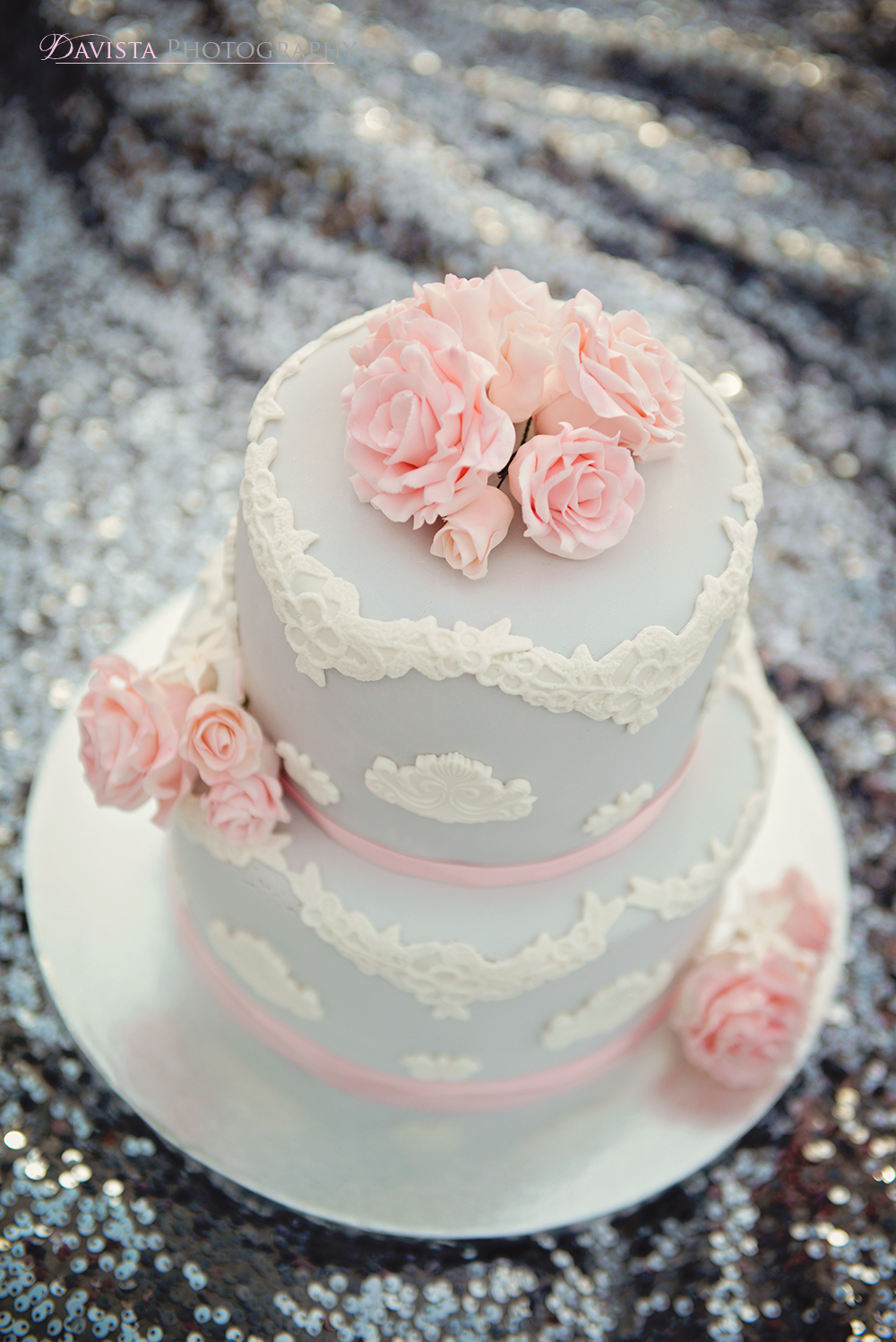 beautiful-lace-wedding-cake-pink-and-gray-new-mexico