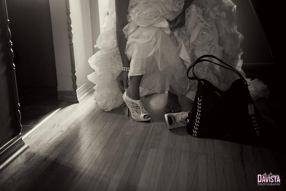 bridal shoes getting ready minnesota bride
