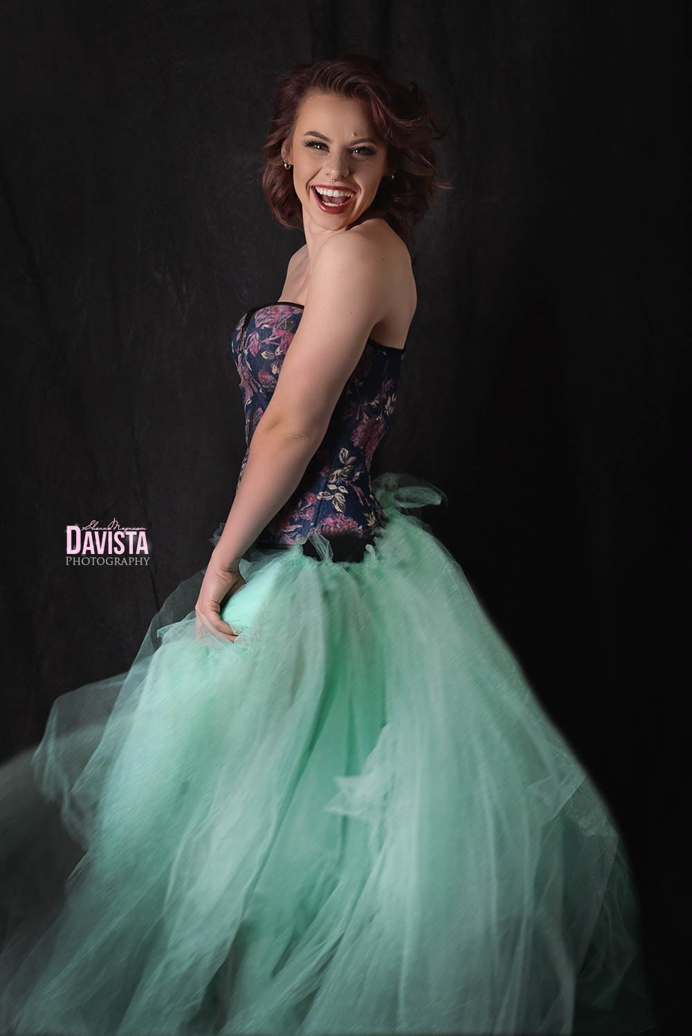 beautiful glamour tulle skirt portraits