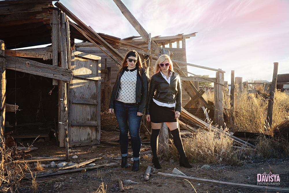 awesome badass friend photos in leather